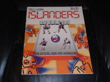 1990 1991 NEW YORK ISLANDERS NHL HOCKEY YEARBOOK  EX-MINT