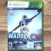 Madden 16 Xbox 360 Game NFL Football 2016 Microsoft EA Sports