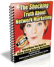 THE SHOCKING TRUTH ABOUT NETWORK MARKETING PDF EBOOK FREE SHIPPING RESALE RIGHTS