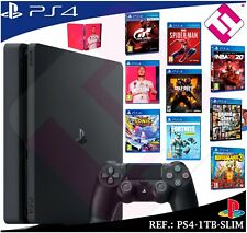 PS4 PLAYSTATION 4 1TB GT SPIDERMAN NBA FIFA20 COD4 GTAV SONIC FORNITE BORDERLAND