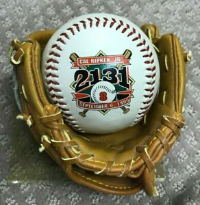 Cal Ripken Jr. Consecutive Games Limited Edition Commemorative Baseball