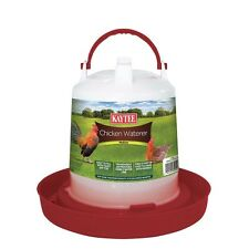 Kaytee Chicken Waterer Medium .75gal Colors Vary (Free Shipping in USA)