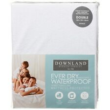 Downland Ever Dry Waterproof Mattress Protector 140 x 190 + 30cm - Double