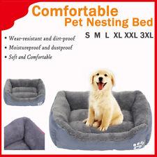 Pet Puppy Cat Dog Bed Cushion Mat Basket Warm Comfy Lining Washable Nest Easipet