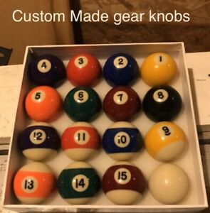 reliant Robin/rialto/kitten/fox Pool Ball Gear Knob