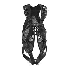Petzl NEWTON EASYFIT Black harness with fast buckles & vest ANSI CSA Size 1