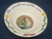 "Vintage Kellogg's Co. Cereal Bowl 1996 ""Sweetheart of the Corn"" 3rd in Series"