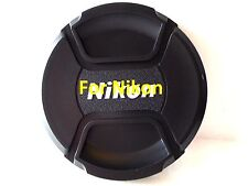 82mm Snap on Center Pinch Lens Cap Dust Cover Protector For Nikon New