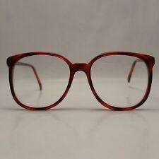 Original Unisexe Vintage Spectacle Cadre Chianti Red Années 80 Lunettes jamais porté