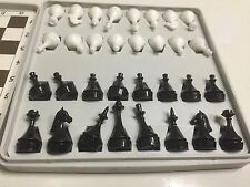 SOVIET MAGNETIC POCKET VINTAGE ROAD CHESS [RARE] MADE IN THE USSR 1970s