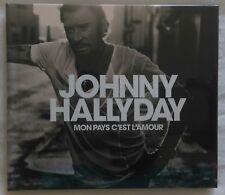 Album Posthume de Johnny Hallyday - Mon Pays c'est l'amour