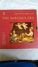 The Baroque Era The Story of Great Music Time Life Records 4 LP Set         lp11