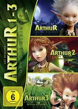 3 DVDs * ARTHUR UND DIE MINIMOYS  1 - 3 IN EINER BOX # NEU OVP §