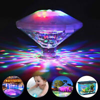Poolbeleuchtung Schwimmende RGB LED Unterwasserbeleuchtung Pool Licht Lampe q2