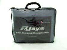 Rjays Lined Waterproof Motorcyle Cover- Large with Rack