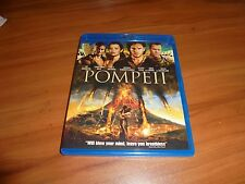 Pompeii (Blu-ray Disc, 2014) Kit Harington,Carrie-Anne Moss