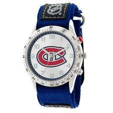 NHL Montreal Canadiens Fastwrap Watch Adult Men's Blue & Red Apparel Accessory