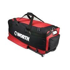 New Worth heavy duty wheeled baseball equipment/bat bag adult softball red Hdbag