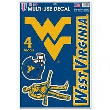 "West Virginia Mountaineers 11"" x 17"" Multi Use Decals - Auto, Walls, Cornhole"