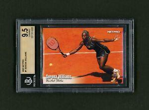 2003 NetPro Serena Williams #1 Base Rookie BGS 9.5 🎾 Compare to PSA 10 🎾 Sharp