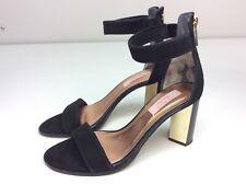 dd570c849f0623 Ted Baker Perlie Black Suede Heels Sandal Size EU 39 US 8
