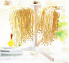6 Arm Pasta Drying Rack Ivory Plastic Stand Spaghetti Fettuccini Noodle Tool