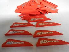 "100 AAE Max Hunter 2.1"" RED Vanes archery equipment arrow fletching"