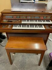More details for vintage yamaha fe-70 electone electric organ retro 88 key and stool - cis s98