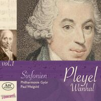 Pleyel / Vanhal / Gyor Philharmonic Orch / Weigold - Pleyel Sinfonien 1 [New CD]