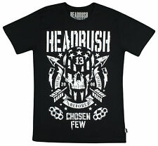 Headrush Mens American Bandit T-Shirt - Black/White - Small
