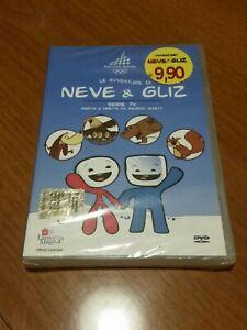 Dvd serie tv Mascotte NEVE & GLIZ Torino 2006 Olimpiadi Olympic Winter Mascot