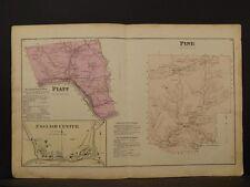 Pennsylvania, Lycoming County Map, 1873 Township of Platt & Pine Y2#29