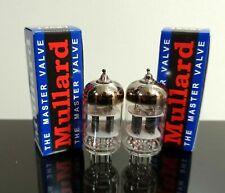 Matched Pair (2) Mullard CV4004/ECC83/12AX7 tubes - Russia
