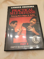 Kali/Escrima Practical Self Defense Dvd Part 2