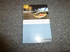 2007 RX400h Navigation System Owner Owner's Operator User Manual Book