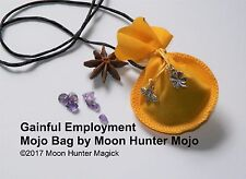 Gainful Employment Mojo Bag Get a Job Charm Employment Spell Hand Made