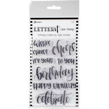 BIRTHDAY - Ranger Letter It - Clear Stamp Set