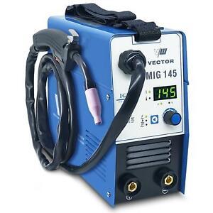 Fülldraht Schweißgerät MIG ohne Gas 145A, MMA, Elektrode, IGBT MIG145A | B-WARE