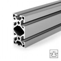 und Einfassprofil Nut 8 L 2000 mm K40.N8 Abdeck PP weißaluminium