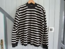 TOMMY HILFIGER PULL MARIN RAYURES NOIRS T L