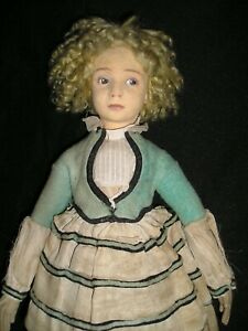 Rare early Lenci Teen - Model # 400 - 17 inches - Outfit needs TLC