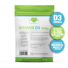 Vitamin D3 5000IU 150 Caps - BBE: 06.20