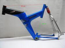 Vintage VILLIGER ARROW Racing Spyce XT MTB Frame 54cm Carbon