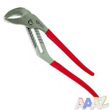 """360mm 14"""" Plumbers Slim Jaw Waterpump Pipe Wrench Pliers Grips Easy To Adjust"""