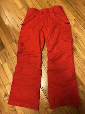 Burton Dryride Women's Snowboard Pants Sz Medium Red. Perfect Condition