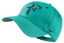 NEW Nike Hybrid RF Roger Federer Hat 371202-405 Lt Retro / Classic Charcoal Cap
