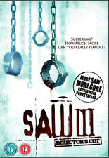 DVD:SAW 3 DIRECTORS CUT - NEW Region 2 UK