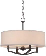 Minka Lavery 844-284 3-Light Drum Pendant Light