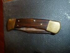 NICE BUCK 110 > USA  POCKET KNIFE POCKETKNIFE W WOOD HANDLE FREE SHIPPING USA