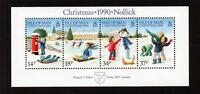 ISLE OF MAN MNH 1990 MS463 CHRISTMAS